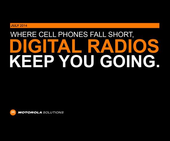 digital radios vs phones