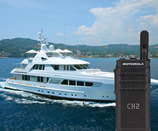 Super Yacht Kathleen Anne upgrades to MOTOTRBO