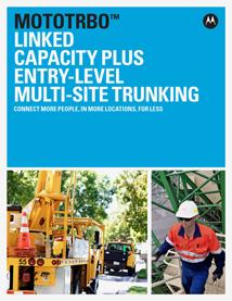 mototrbo linked capacity plus brochure