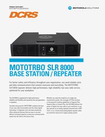 SLR8000 Datasheet