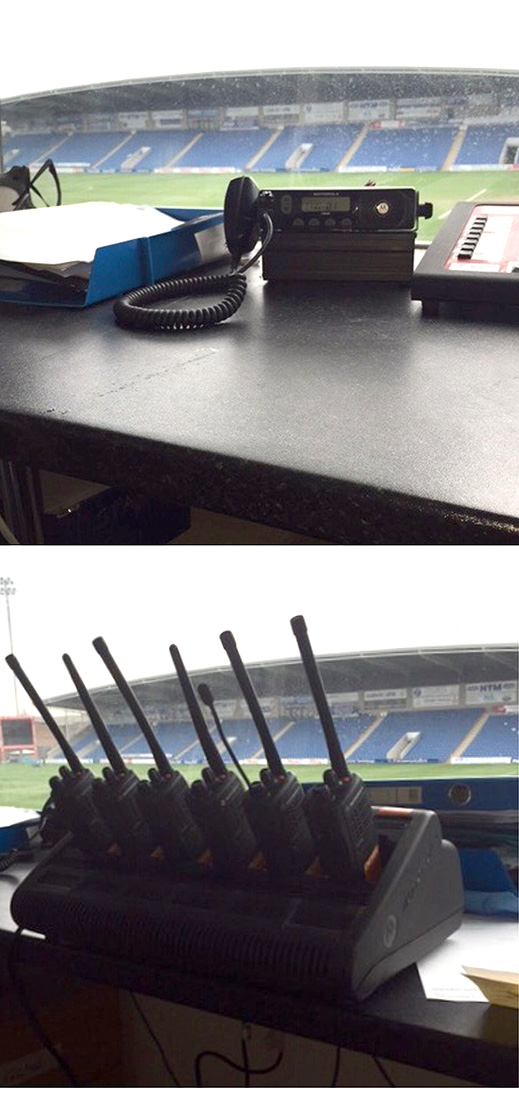 chesterfield fc radios