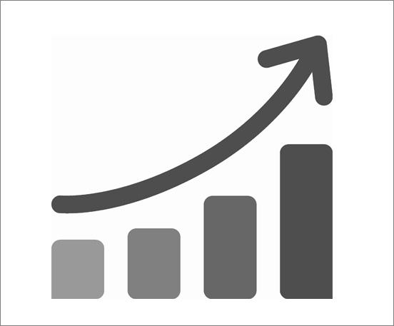 DCRS growth chart icon Motorola