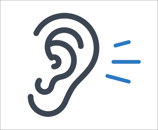 MOTOTRBO Ear Audio Icon