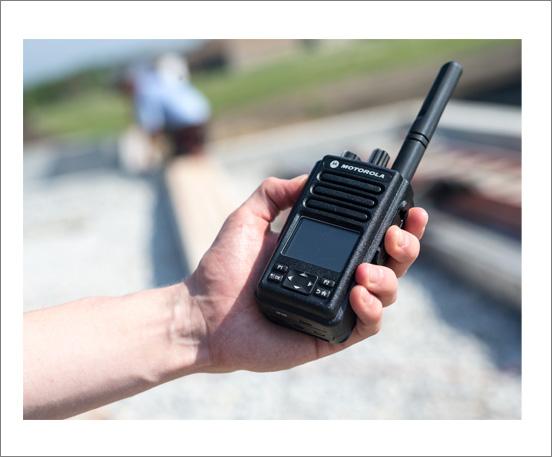 Motorola DP3661e Hand