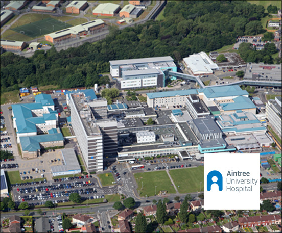 Aintree Hospital Aerial MOTOTRBO