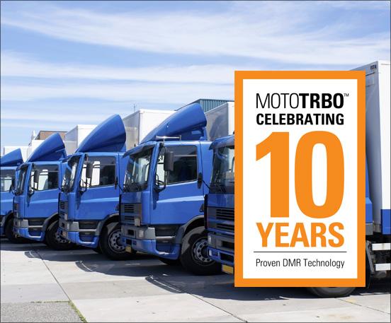 MOTOTRBO 10 Years