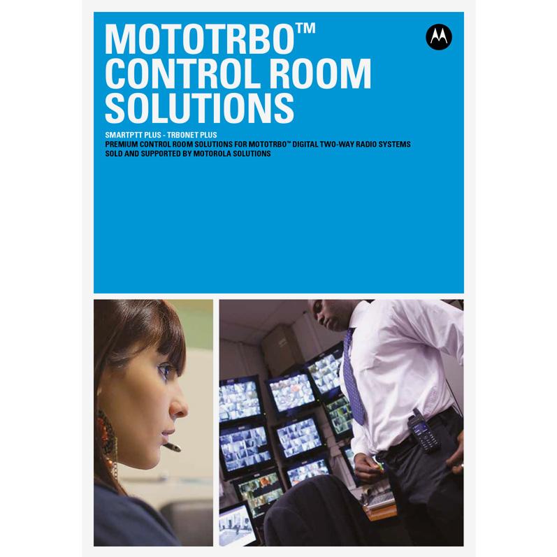 mototrbo control room solutions brochure